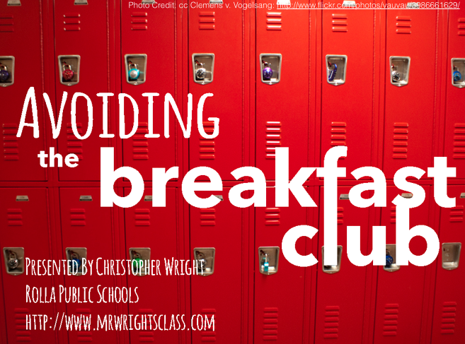 Avoiding the Breakfast Club