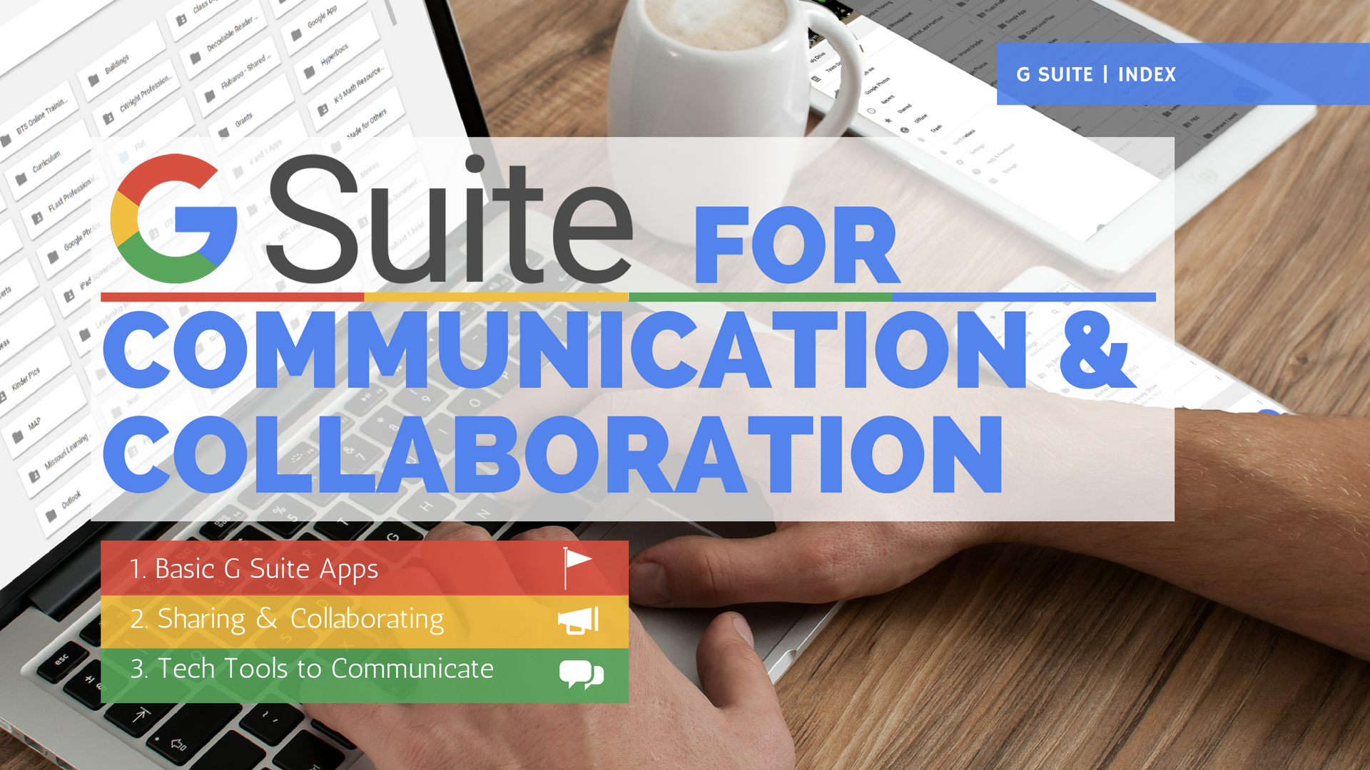 GSuite for Communication and Collaboration
