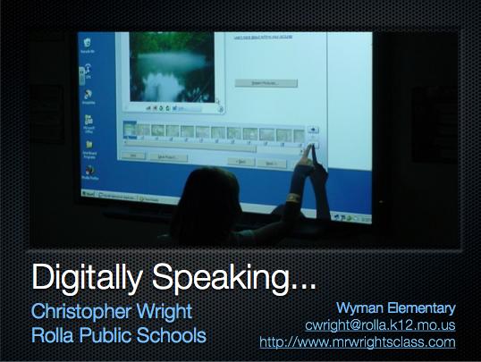 Digitally Speaking